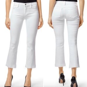 J Brand Selena Mid Crop Boot Released Hem Jeans 25